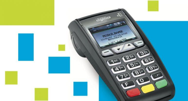 мобильный терминал Ingenico от Модульбанк